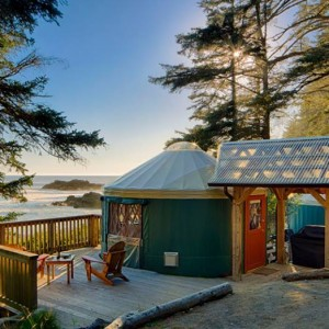 Photo: Pacific Yurts