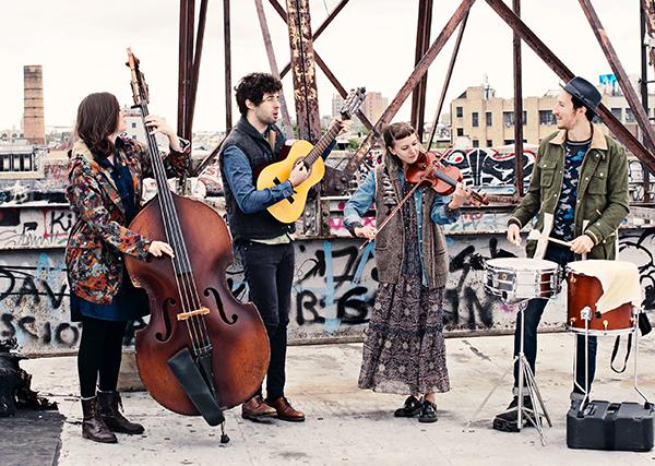 Vinnie Ferra (center) with his band. PHOTO: Thursday Island