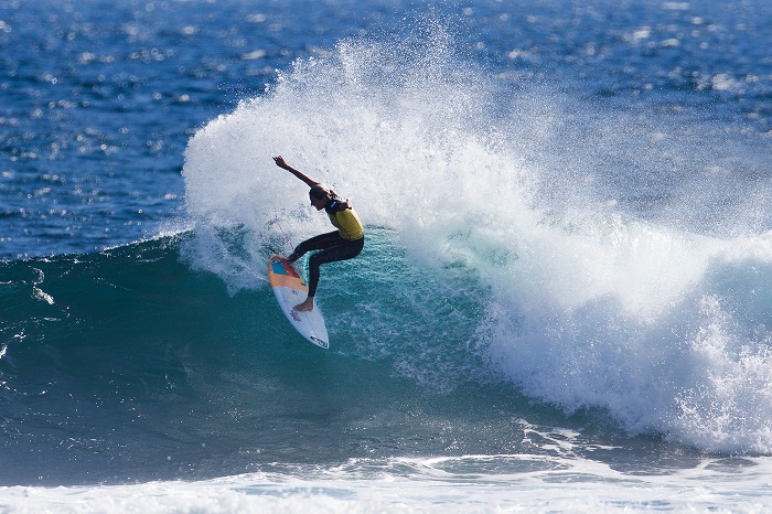 Stephanie Gilmore is gunning for her seventh world title in 2015. PHOTO: WSL/Cestari
