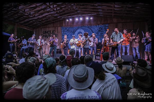 The epic Clusterpluck at Suwannee Springfest. PHOTO: Eric Rayburn