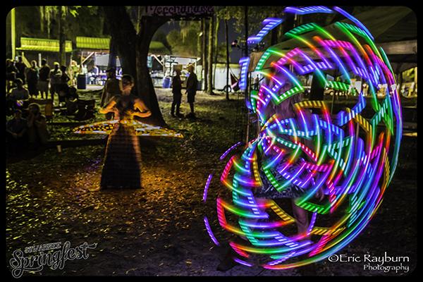 Hoopin' it up at Suwannee Springfest. PHOTO: Eric Rayburn