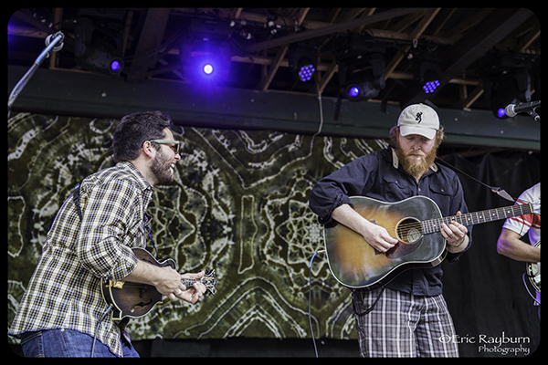 Brock Butler (r) at Suwannee Springfest. PHOTO: Rayburn