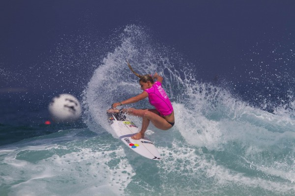 Lakey Peterson (USA) is one of the women's surfers to watch in Rio. PHOTO: WSL/Smorigo