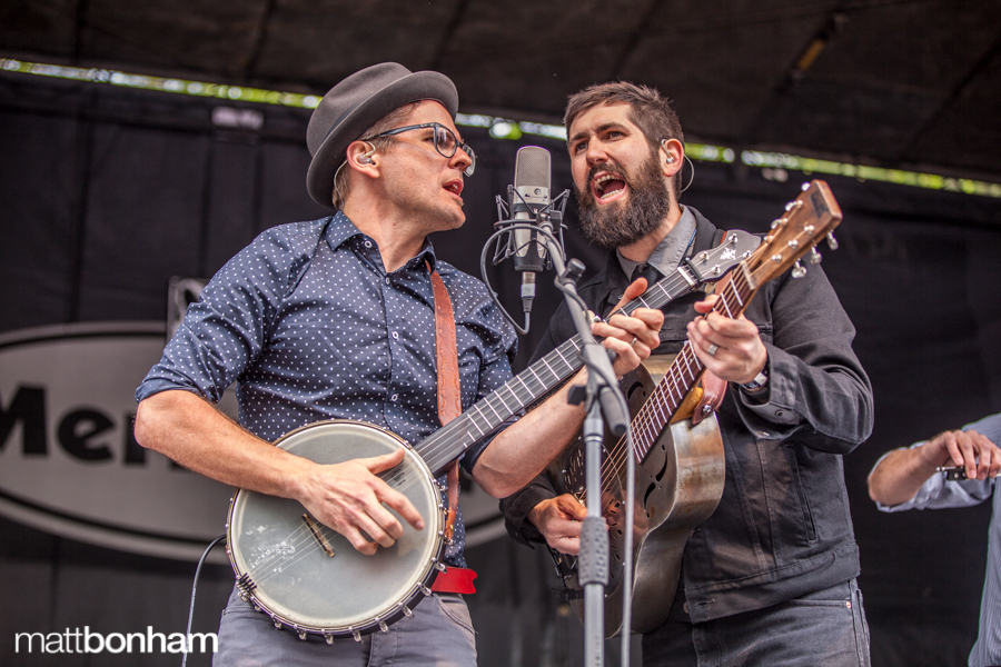 Trent Wagler (L) and Jay Lapp of The Steel Wheels. PHOTO: Matt Bonham