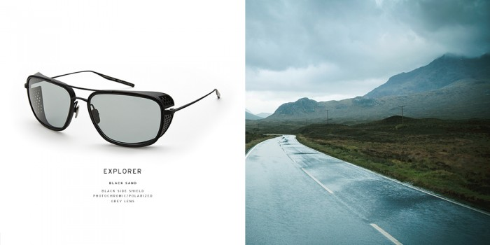 The Explorer, part of the SALT. x Aether eyewear collection. PHOTO: SALT. Optics